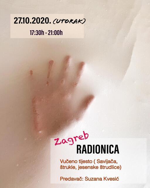 RADIONICA Zagreb: 27.10.2020. UTORAK