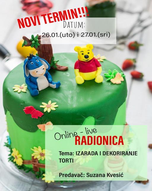 Online – live radionica 26.01. i 27.01.2021