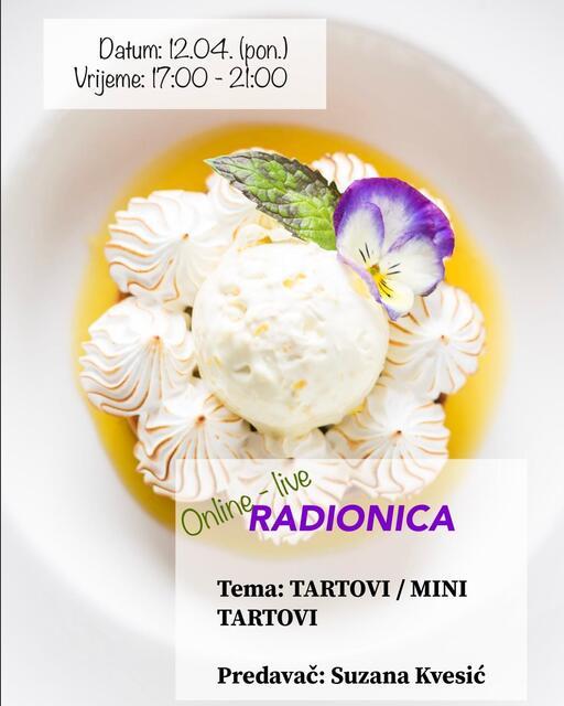 Online-live RADIONICA: 12.04.2021. (ponedjeljak)
